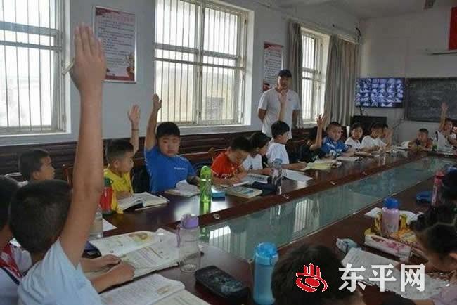 彭集街道马代村:爱心课堂温暖留守儿童