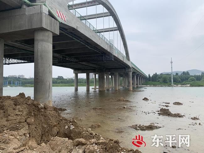 东平管理局对涉河项目进行督导检查