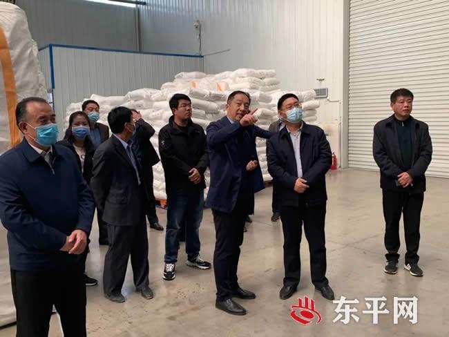 东平县政协视察全县创业担保贷款工作